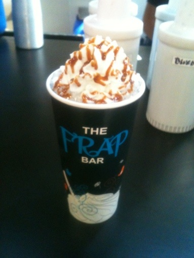 The Frap Bar - White Choco Oreo