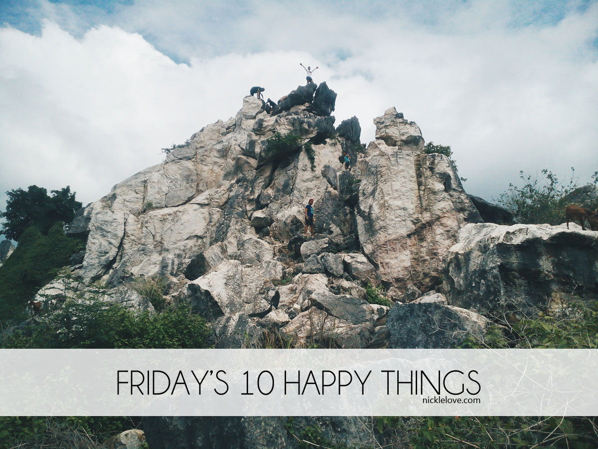 10 Happy Things Week 1 | Nickle Loves to Blog