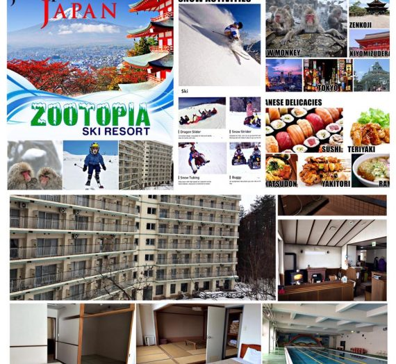 Zoomanity Group Presents: Zootopia Ski Resort Japan