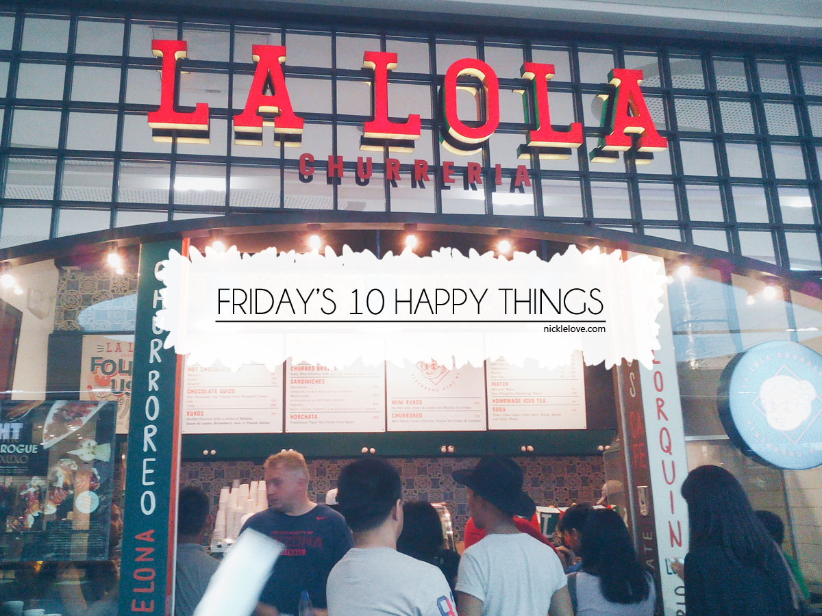 Friday's 10 Happy Things 2 | Nickle Loves to Blog