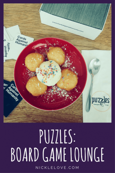 Puzzles: Board Game Loung