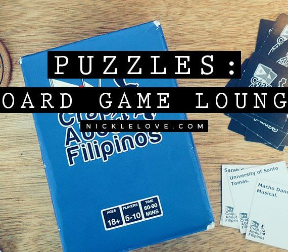 Puzzles: Board Game Lounge